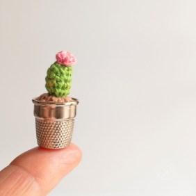 Cactus Miniature au Crochet