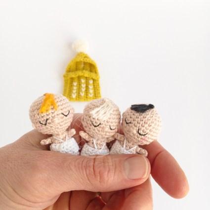 Tutoriel Bébés miniatures au crochet