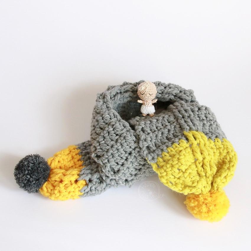 Tutoriel echarpe bebe au crochet blog