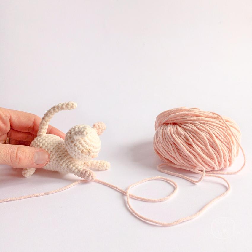 Petit Chat au Crochet