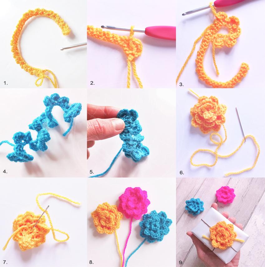 DIY Fleur Crochet