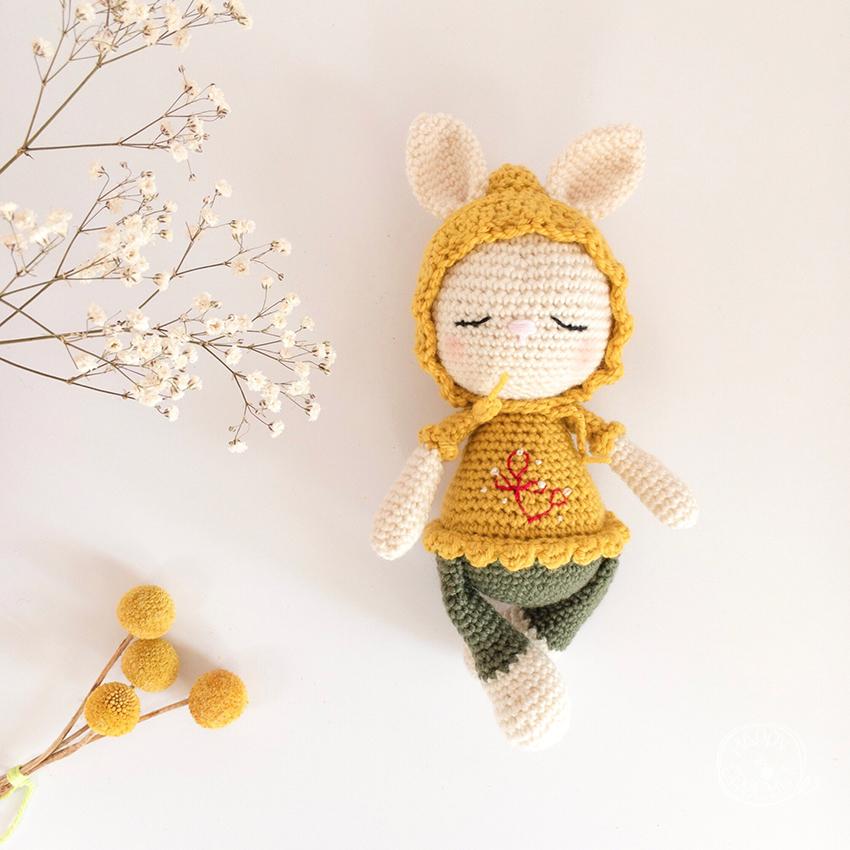 Poupee Lapin Crochet