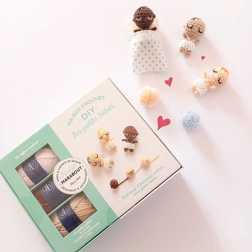 Box Crochet DIY Les Petits Bebes