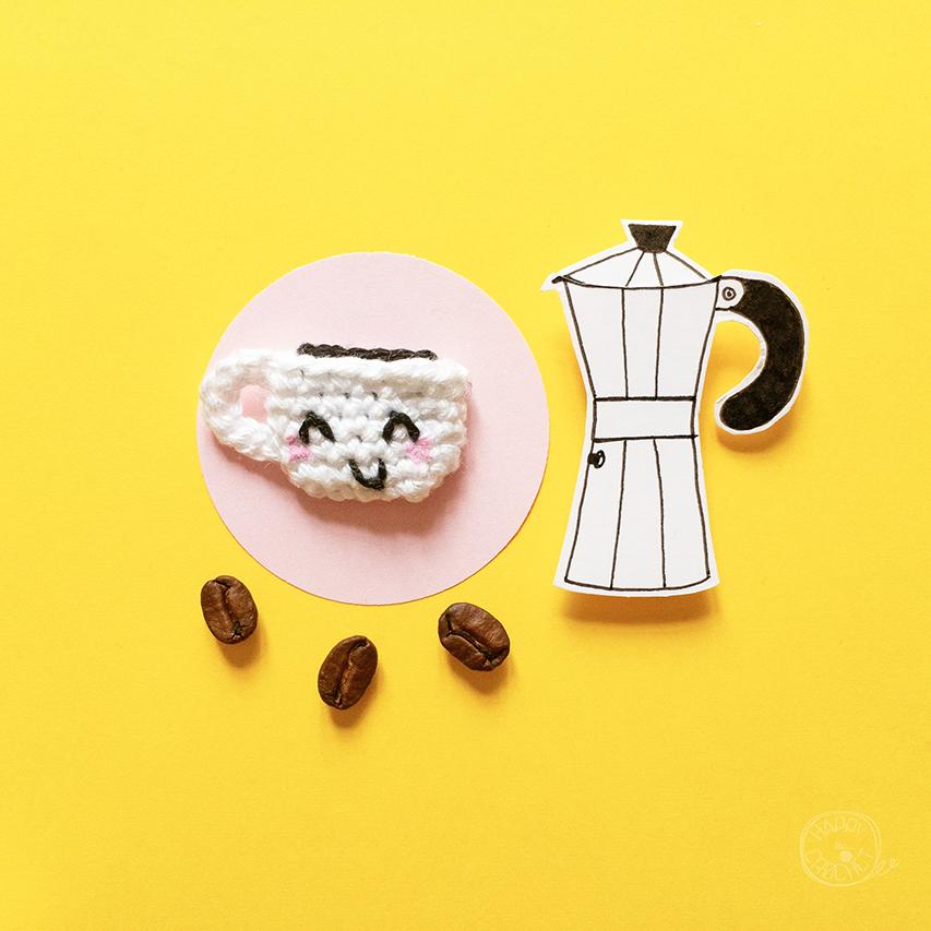DIY-Tutoriel Tasse Cafe Amigurumi au Crochet