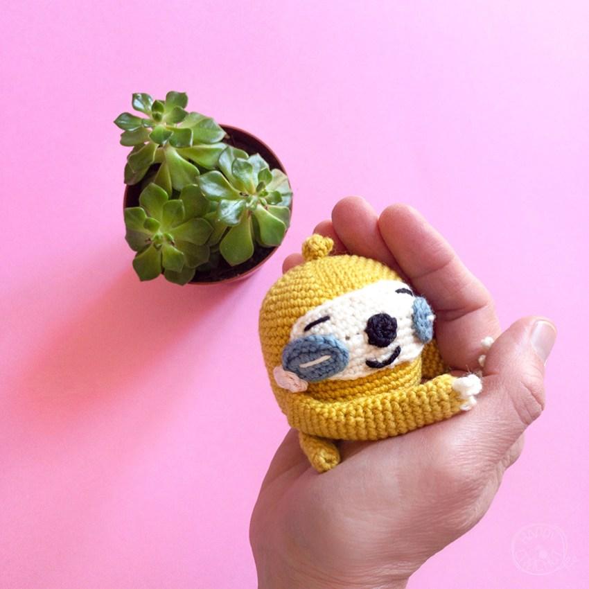 Amigurumi-Paresseux-au-crochet