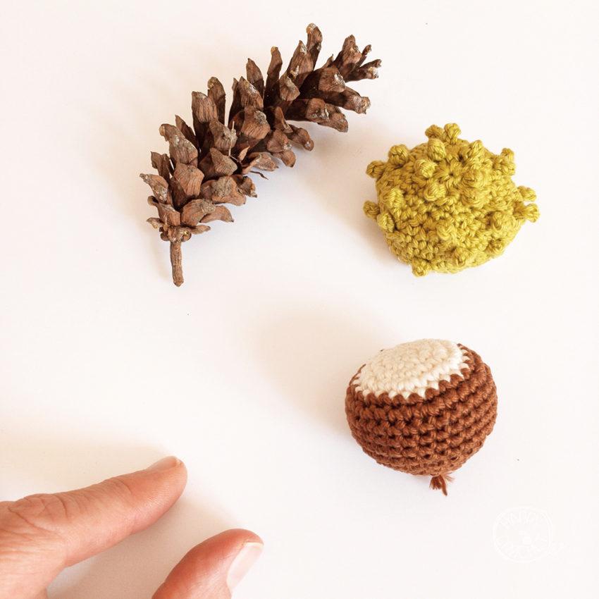 Marron au Crochet - Crochet Chestnut