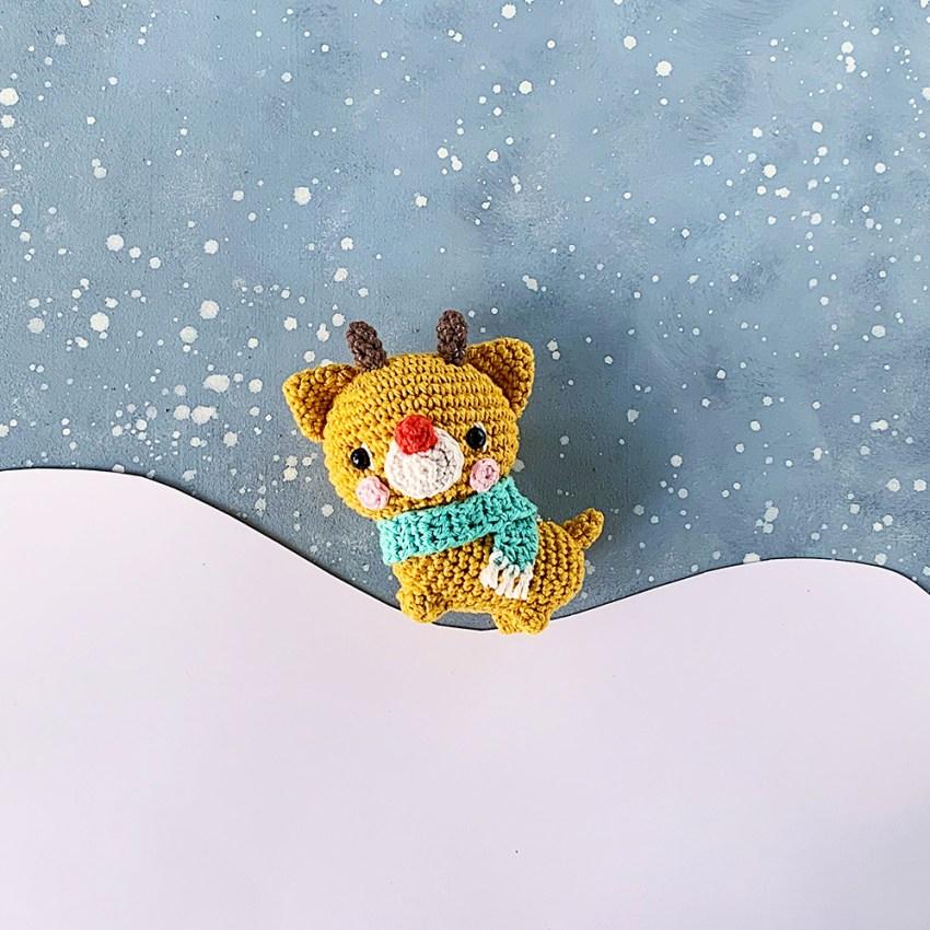 Reindeer Amigurumi by Amigurumei