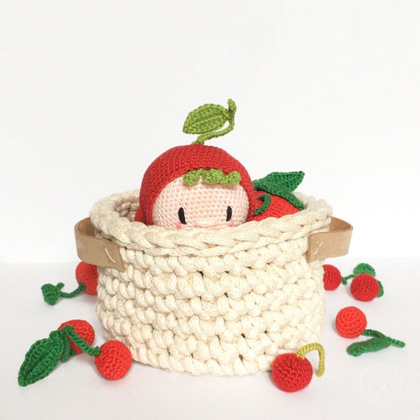 Corbeille Crochet et Amigurumi Cerise
