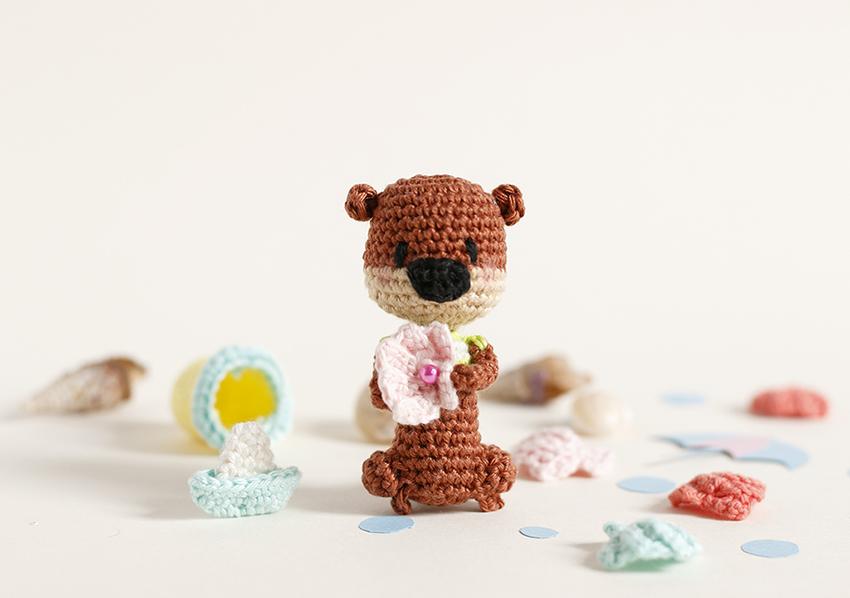 Loutre Miniature au Crochet