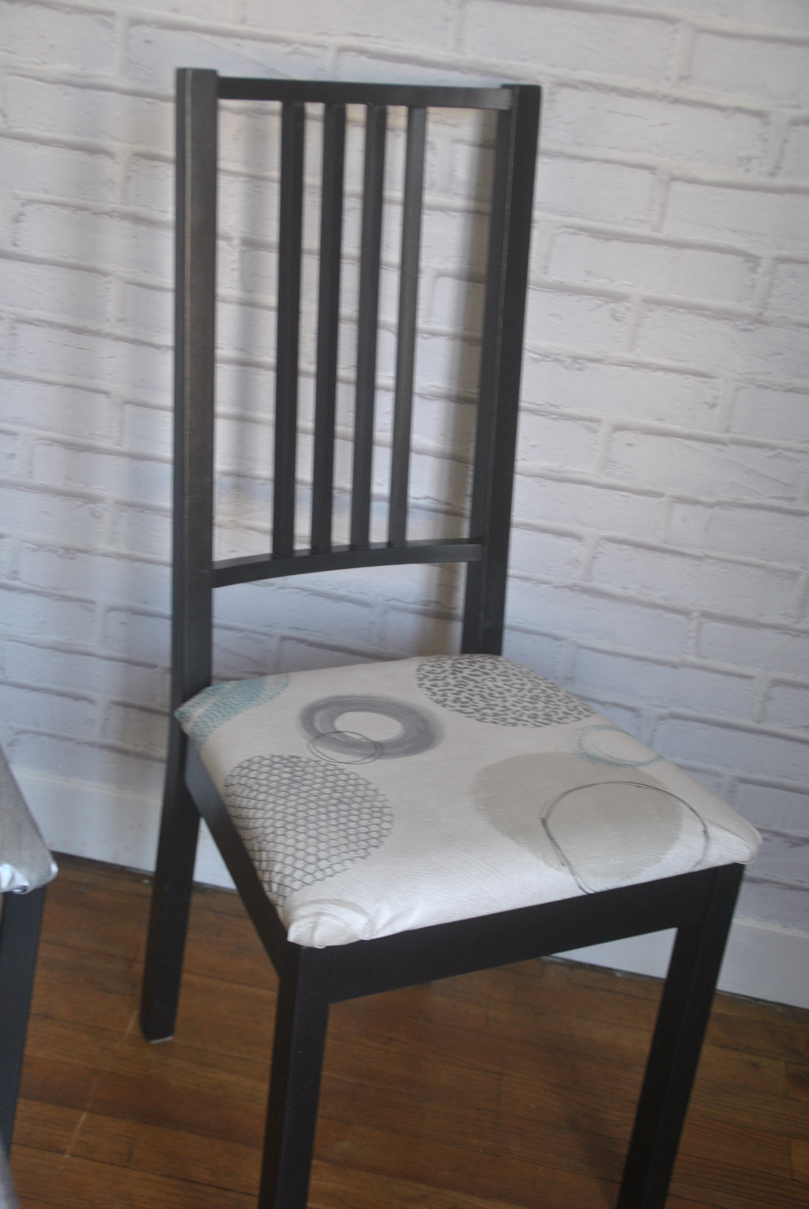 customisation de chaises ikea avant