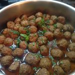 Boulettes menthe & citronnelle, Happy curry, circuit court