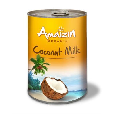 Lait de coco bio, amaizin, Happy Curry