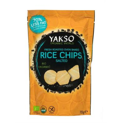 Chips bio, chips de riz, Yakso, Happy Curry
