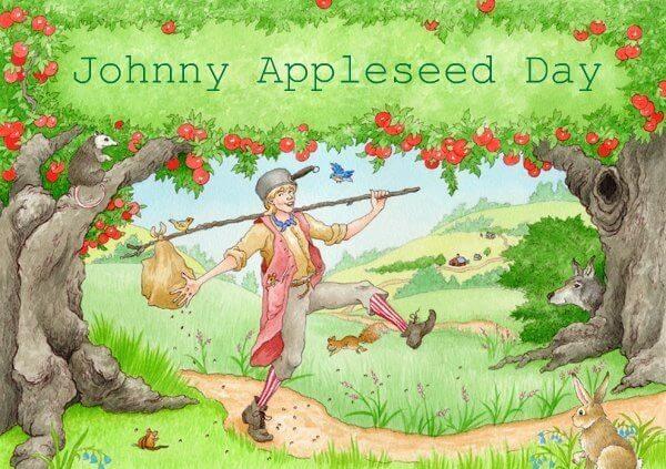 Johnny Appleseed Day – September 26, 2020
