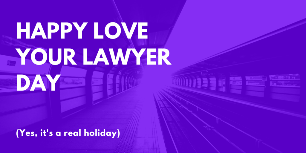 Love Your Lawyer Day – November 6, 2020