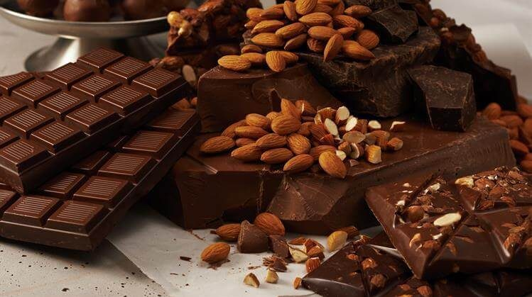 National Bittersweet Chocolate with Almonds Day – November 7, 2020