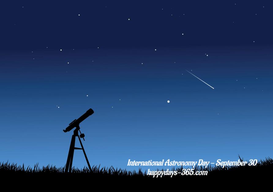 International Astronomy Day – October 13, 2018
