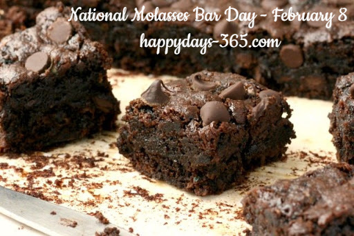 National Molasses Bar Day – February 8, 2020