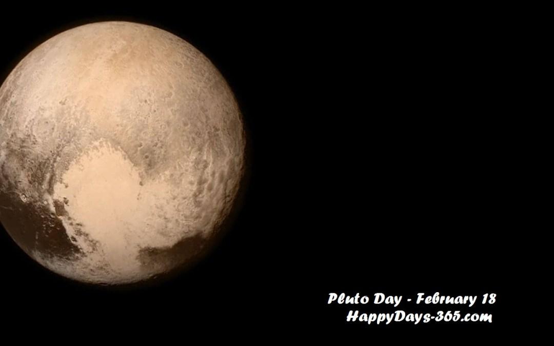 Pluto Day – February 18, 2020