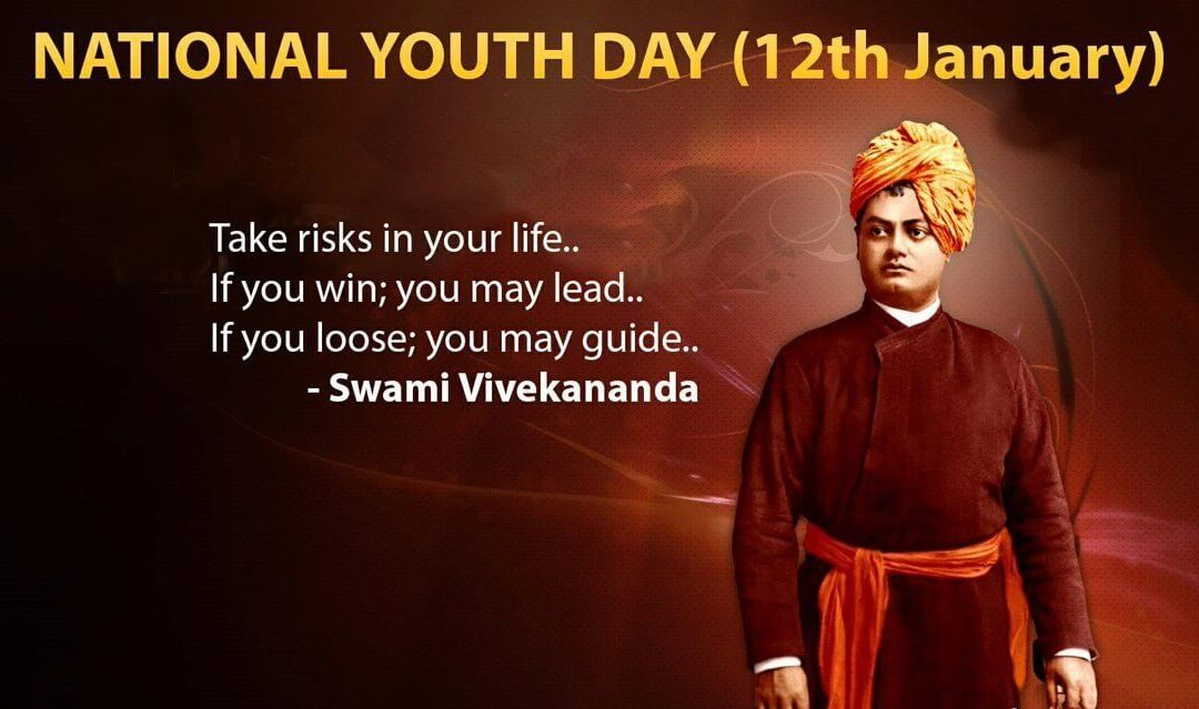 National Youth Day in India – January 12, 2021