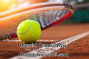 World Tennis Day 2018 - March 5