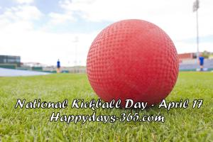 National Kickball Day
