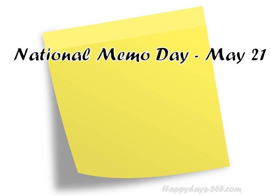 National Memo Day