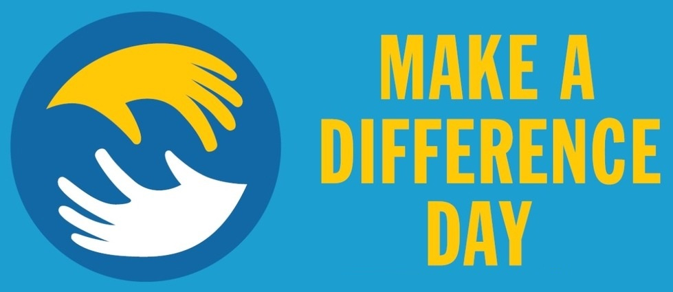 National Make A Difference Day – October 24, 2020