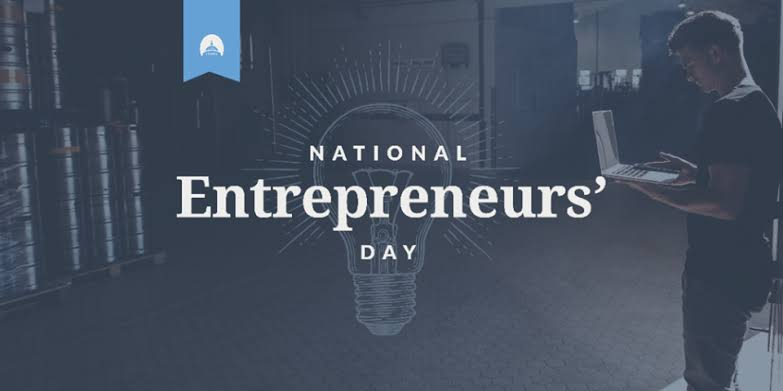 National Entrepreneurs Day – November 19, 2020