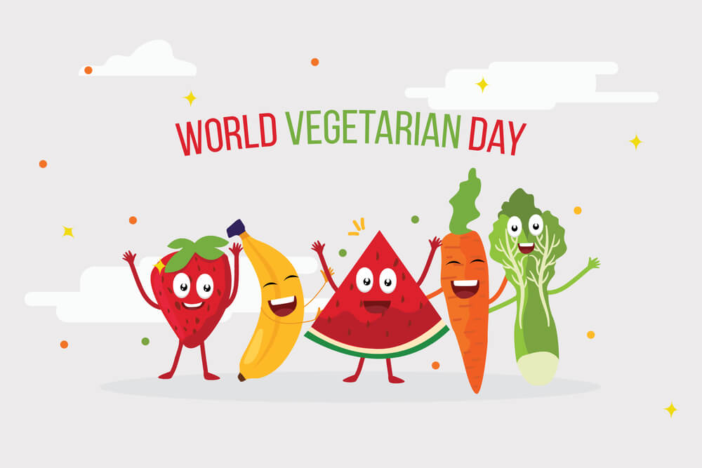 World Vegetarian Day – October 1, 2020