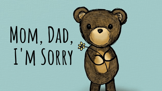 Forgive Mom & Dad Day – March 18, 2021