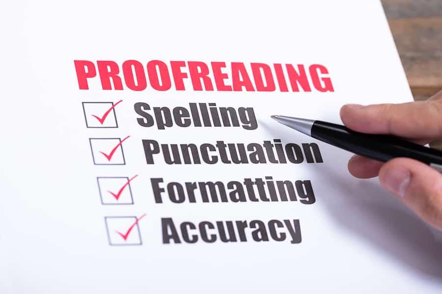 National Proofreading Day – March 8, 2021