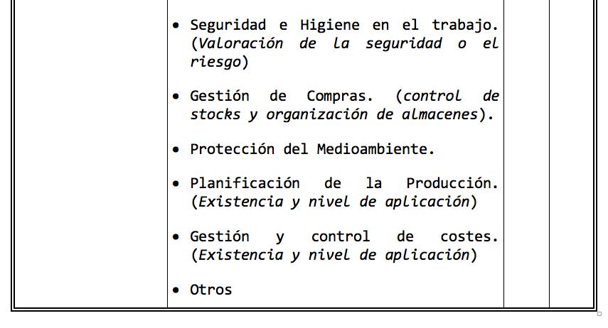 Factores Capacidades Técnicas