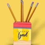 Pencil Pencil Holder