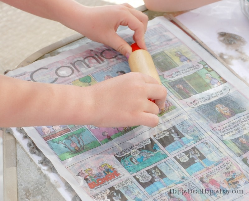 how to recycle newspaper