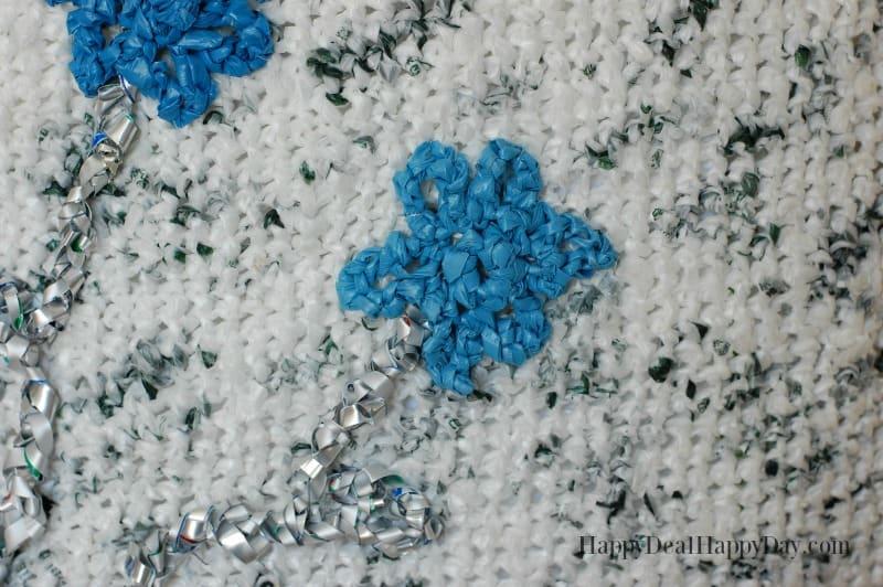 plarn tote flowers