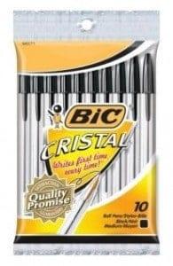 FREE Bic Pens at Wegmans!!