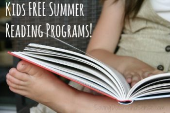 Big List of FREE Summer Reading Programs
