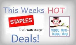 Staples Back-To-School Deals for July 13th – July 19th | Free Sharpies, $0.17 Notebooks & More!