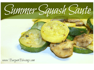 Recipes For the Garden Veggies | Summer Squash Recipe