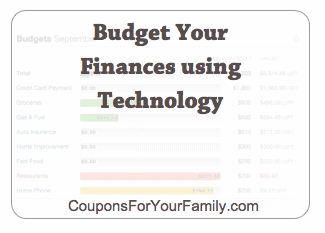 Budget Your Finances Using Technology