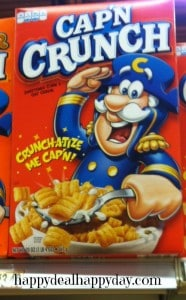 cereal marketing strategies:  capn crunch cereal staring at your kids