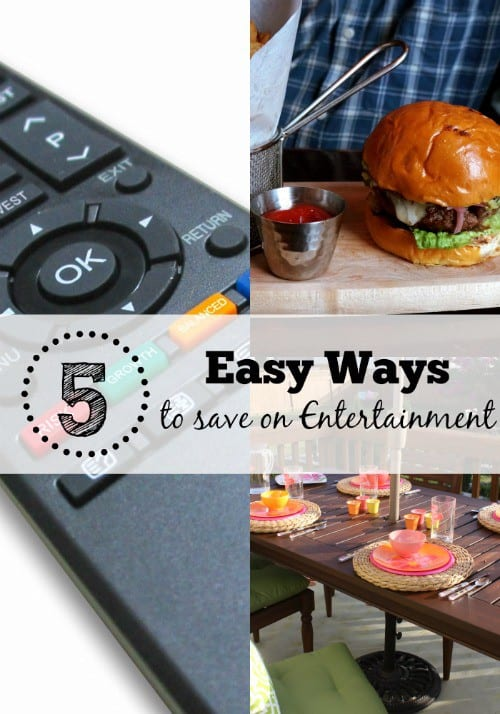 5 Easy Ways to Save on Entertainment