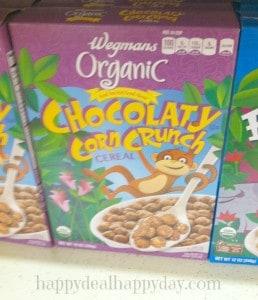 wegmans organic cereal