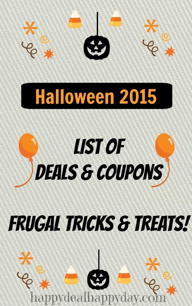halloween deals list