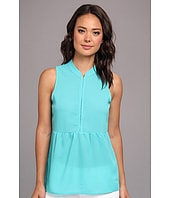 turquoise baby doll shirt