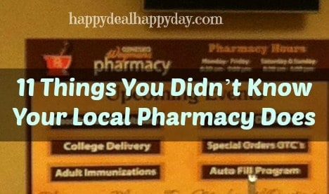 Check out My Quote over on MoneyTalksNews.com | 11 Things You Didn't Know Your Local Pharmacy Does!