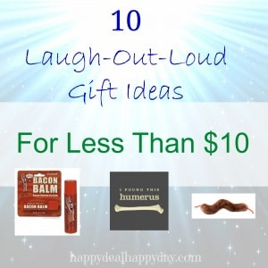 10 laugh out loud gifts less than 10