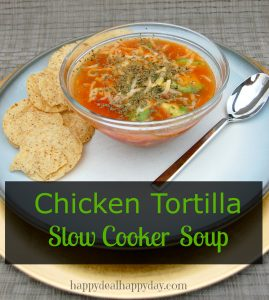 The EASIEST & Best Slow Cooker Chicken Tortilla Soup Recipe