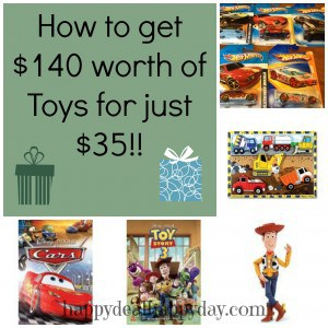 How to get $140 Worth of Toys for just $35!